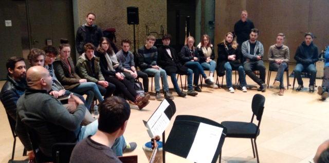 Coverage of the ECME residency at Aldeburgh Young Musicians (2) إقامة فنية في ألدبرة للموسيقيين الشباب