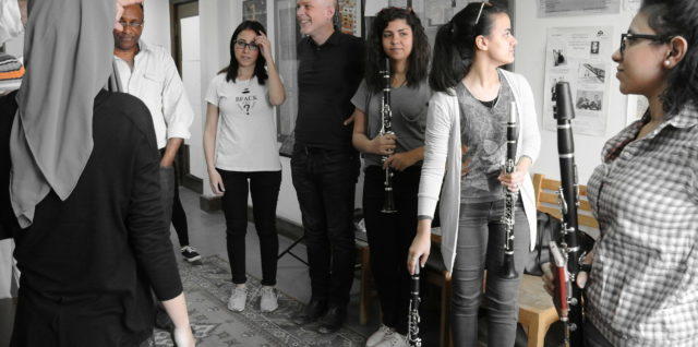 Ensemble Mosaik with intensive academic activities in Cairo